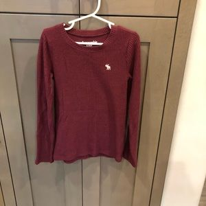 Abercrombie kids ribbed top